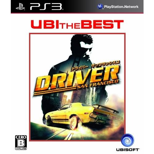 ユービーアイ・ザ・ベスト ドライバー:サンフランシスコ - PS3 中古 olap