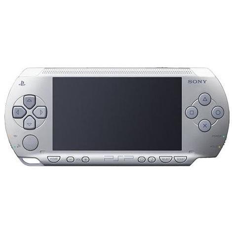 PSP「プレイステーション・ポータブル」 シルバー (PSP-1000SV) 【メーカー生産終了】 中古