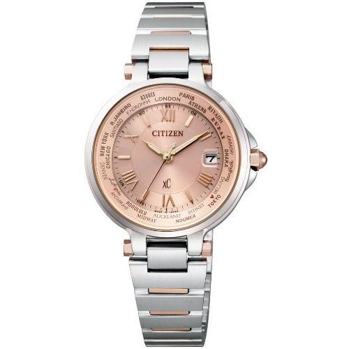 品質保証 [シチズン]CITIZEN 腕時計 腕時計 xC クロスシー エコ クロスシー・ドライブ電波時計 ハッピーフライトシリーズ EC1014-65W xC レディース, 激安通販新作:6e950515 --- airmodconsu.dominiotemporario.com