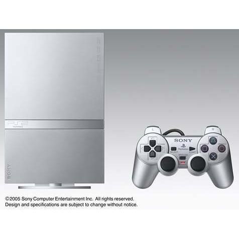 PlayStation 2 サテン・シルバー (SCPH-75000SSS) 【メーカー生産終了】 中古