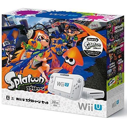 Wii U スプラトゥーン セット 中古