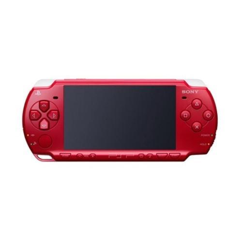 PSP「プレイステーション・ポータブル」 ディープ・レッド ワンセグパック (PSPJ-20001) 【メーカー生産終了】 中古