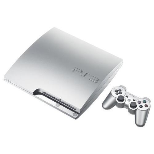 PlayStation 3 (160GB) サテン・シルバー ( CECH-2500A SS )【メーカー生産終了】 中古