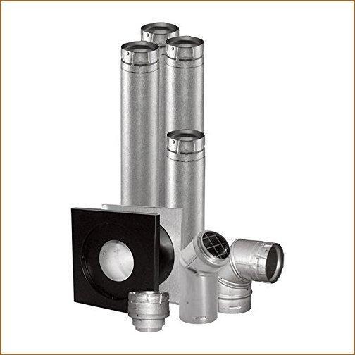 DuraVent Vent Unit Heater Kit - 4in. Horizontal, Model# 4UHK-KVNT【並行輸入品】