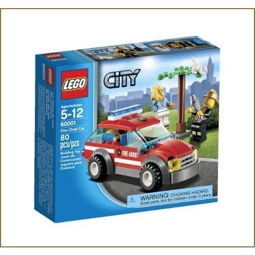 LEGO City Fire Chief Car 60001【並行輸入品】 old-tree