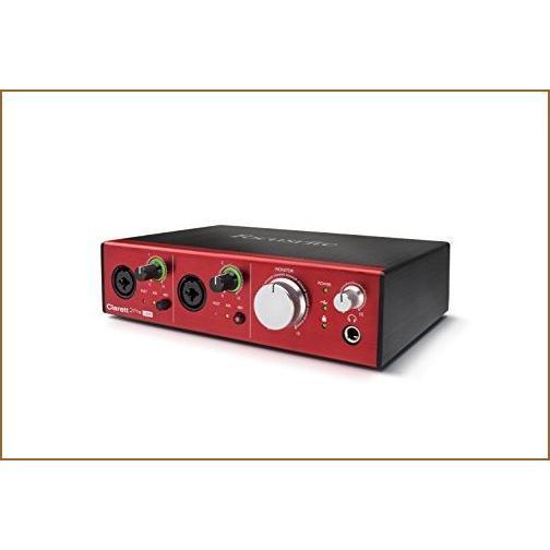 Focusrite Clarett 2Pre USB 10-In/4-Out Audio Interface【並行輸入品】