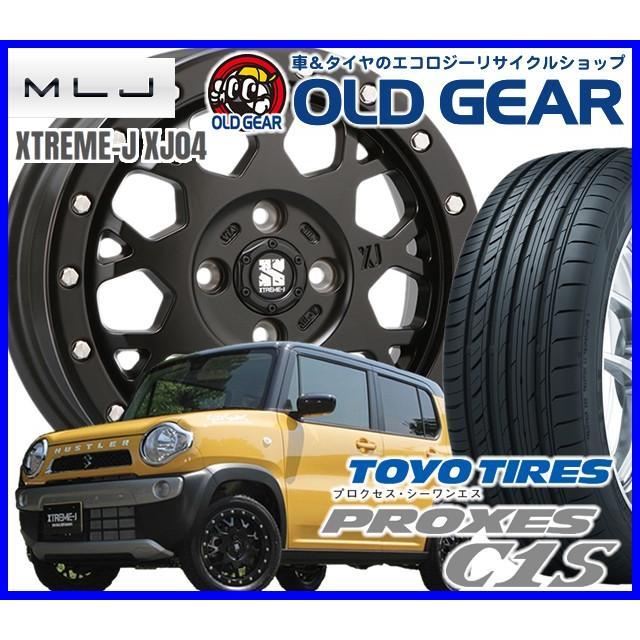 国産タイヤ アルミホイール 新品 4本セット  MLJ エクストリーム-J XJ04 245/40R20 20インチ 新品 トーヨー プロクセス C1S バランス調整済み パーツ