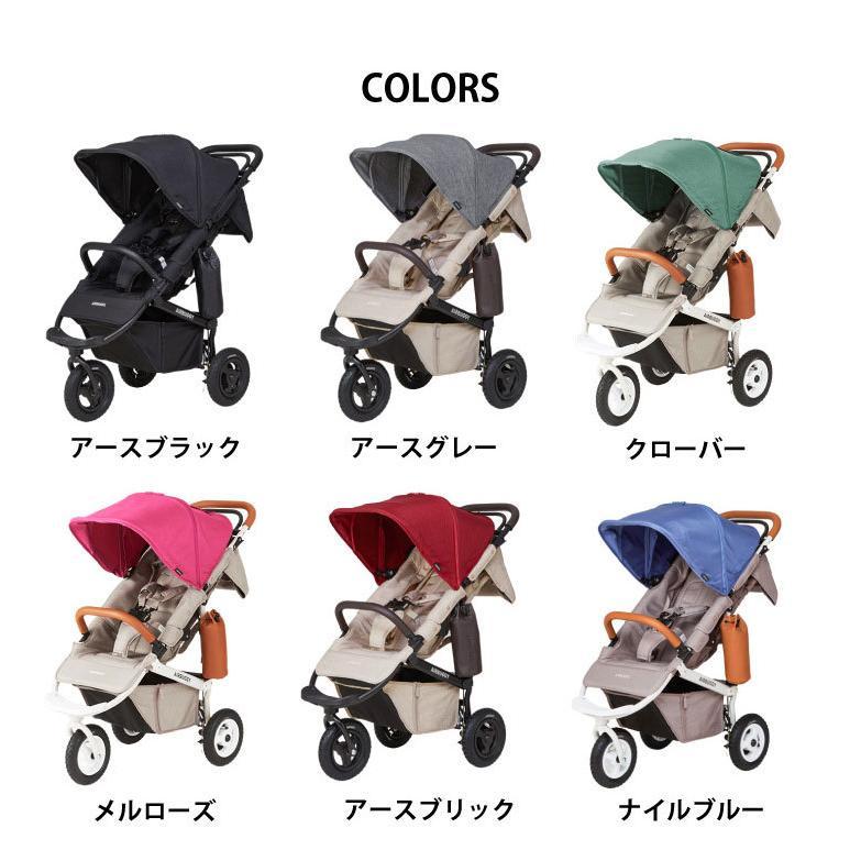 新生児から使える エアバギー ココ プレミア ベビーカー AIRBUGGY COCO PREMIER FROM BIRTH 新生児 3輪 エアタイヤ A型 B型 日本正規品|oldnew|16