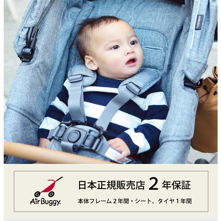 新生児から使える エアバギー ココ プレミア ベビーカー AIRBUGGY COCO PREMIER FROM BIRTH 新生児 3輪 エアタイヤ A型 B型 日本正規品|oldnew|03