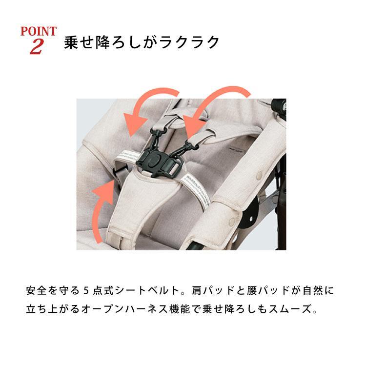 新生児から使える エアバギー ココ プレミア ベビーカー AIRBUGGY COCO PREMIER FROM BIRTH 新生児 3輪 エアタイヤ A型 B型 日本正規品|oldnew|05