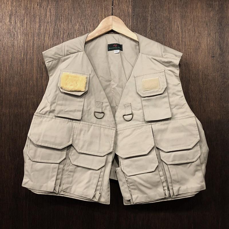 Abercrombie & Fitch Vintage Fishing Vest アバクロ アバクロンビー フィッチ フィッシンング ベスト ビンテージ デッドストック