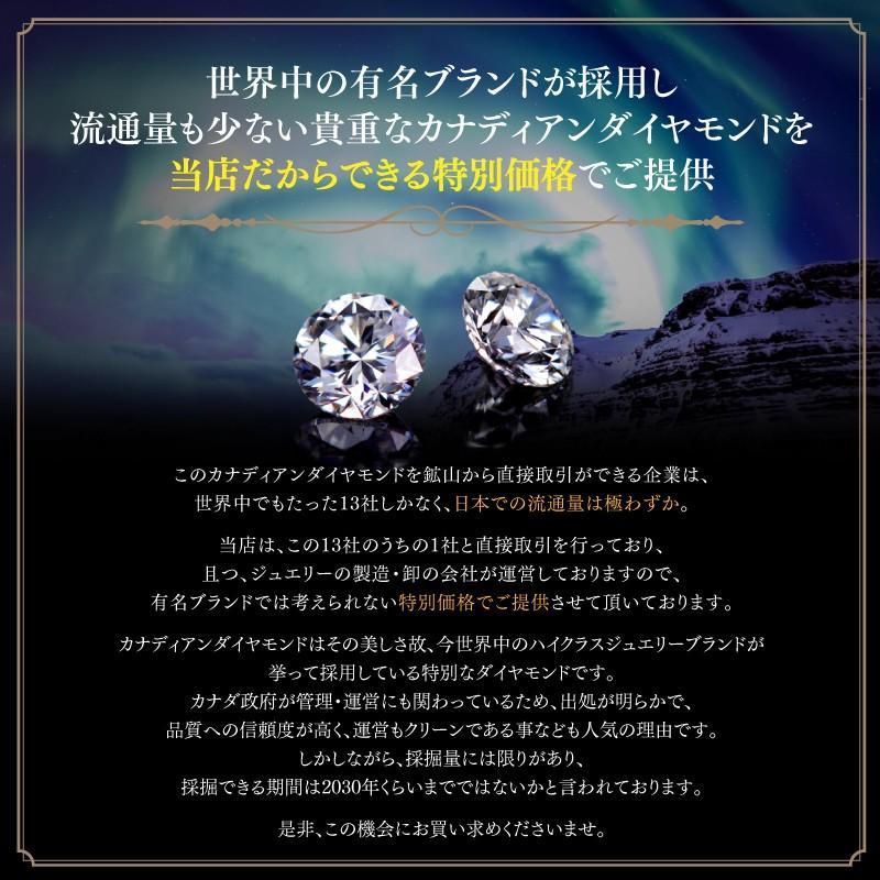 【21%OFF】極上の煌めき◆カナディアンダイヤモンド◆リング 計1.20ctUP [PT950]|olika|14
