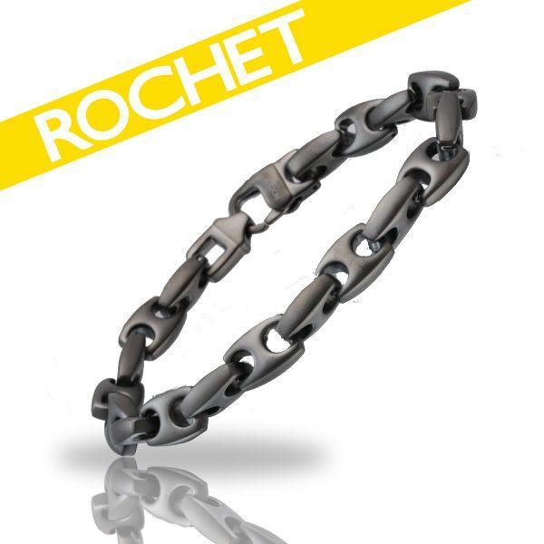 【福袋セール】 ROCHET B020991/ロシェ MEGALION ブレスレット/サージカルステンレス 9mm ROCHET/ロシェ MEGALION/IPGUNコーティング B020991, カワサキク:1a2366e4 --- airmodconsu.dominiotemporario.com