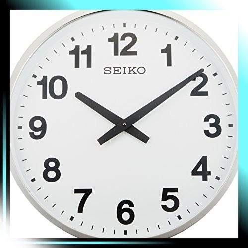 セイコー クロック 掛け時計 アナログ 屋外 防雨型 オフィスタイプ