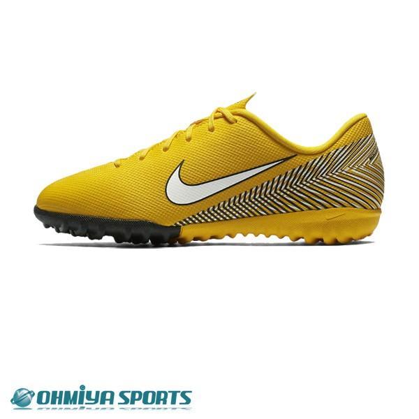 ナイキ Nike ジュニア ヴェイパー12 アカデミー GS NJR TF 18FA ジュニアサッカートレシュー AO9476-710 (アマリロ/ホワイト/ブラック)