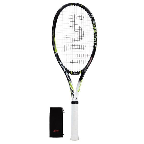 スリクソン レヴォ CV 5.0 OS 硬式テニスラケット SR21604 (ブラック×ライム)