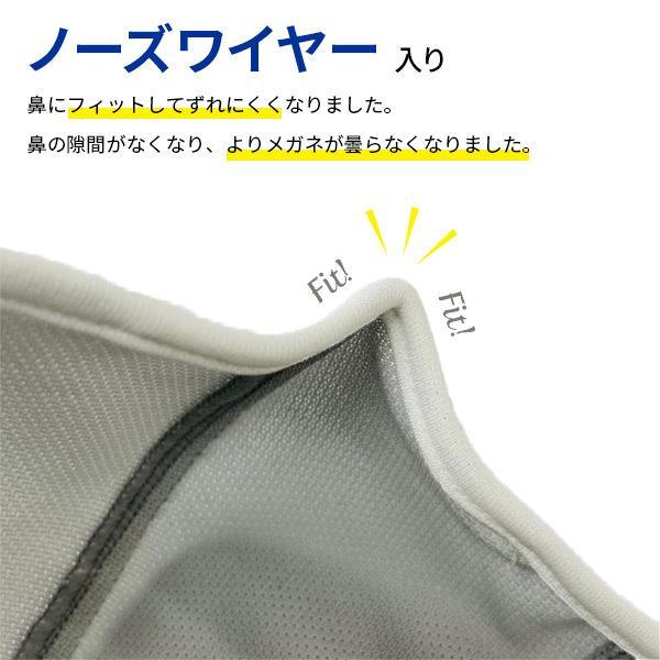 ベンチレーションマスク ライトタイプ ventilation MASK  呼吸が楽 メガネが曇りにくい 洗える 日本製 スポーツマスク ランニング アジャスト機能 UVカット DRY|om-sports|06