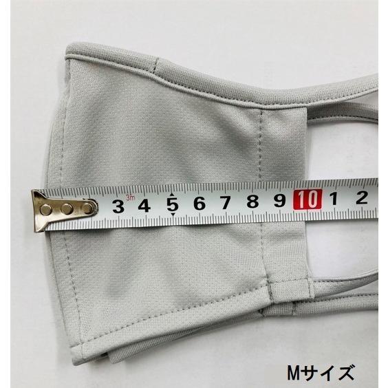 ベンチレーションマスク ライトタイプ ventilation MASK  呼吸が楽 メガネが曇りにくい 洗える 日本製 スポーツマスク ランニング アジャスト機能 UVカット DRY|om-sports|08