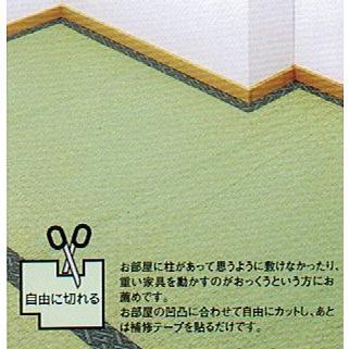 い草上敷きサイズ変更 上敷補修テープ 修理縁 ヘリテープ No.4のへり 1メートル単位で選択可能 おまかせ工房|omakase-factory|04