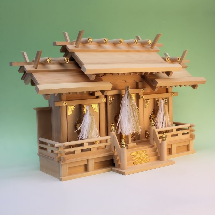 神具 祓串 大幣 桧製 和紙の紙垂 大麻付き 正絹白糸仕様 おまかせ工房|omakase-factory|06