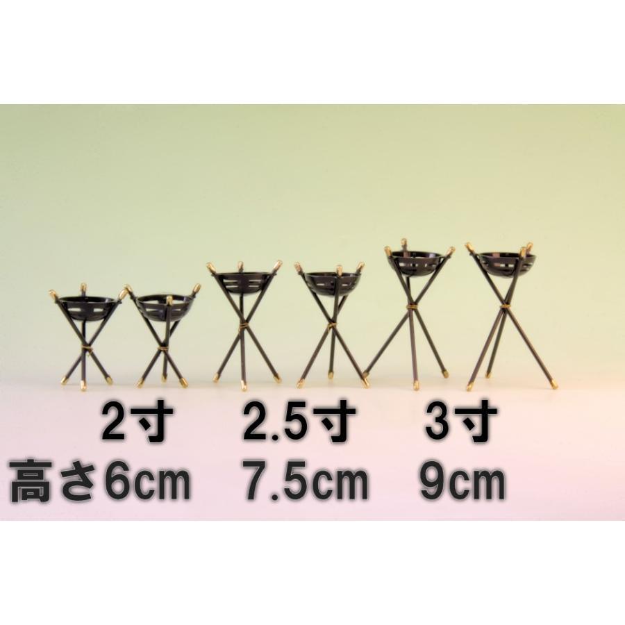 神具 かがり火 高さ約6cm これは組です おまかせ工房|omakase-factory|05