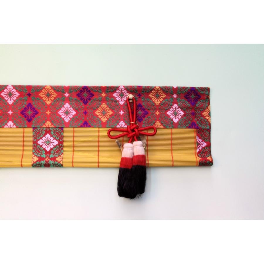 神道 祖霊舎内御簾 麻房 金具付き 約幅60cm下がり15cm おまかせ工房|omakase-factory|13