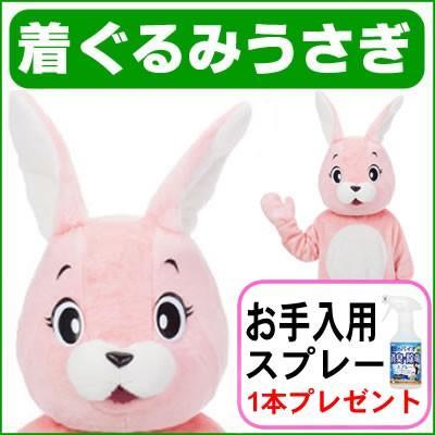 着ぐるみ うさぎ ウサギのラビちゃん