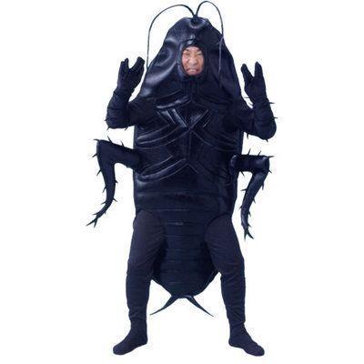ゴキブリ男 顔出し着ぐるみ