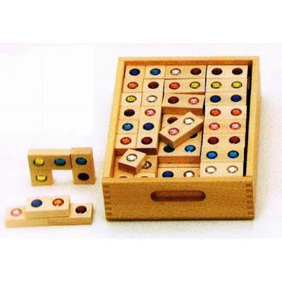 木のおもちゃ ドイツ 木製 知育玩具 ジュエル積木(デュシマ社) 送料無料