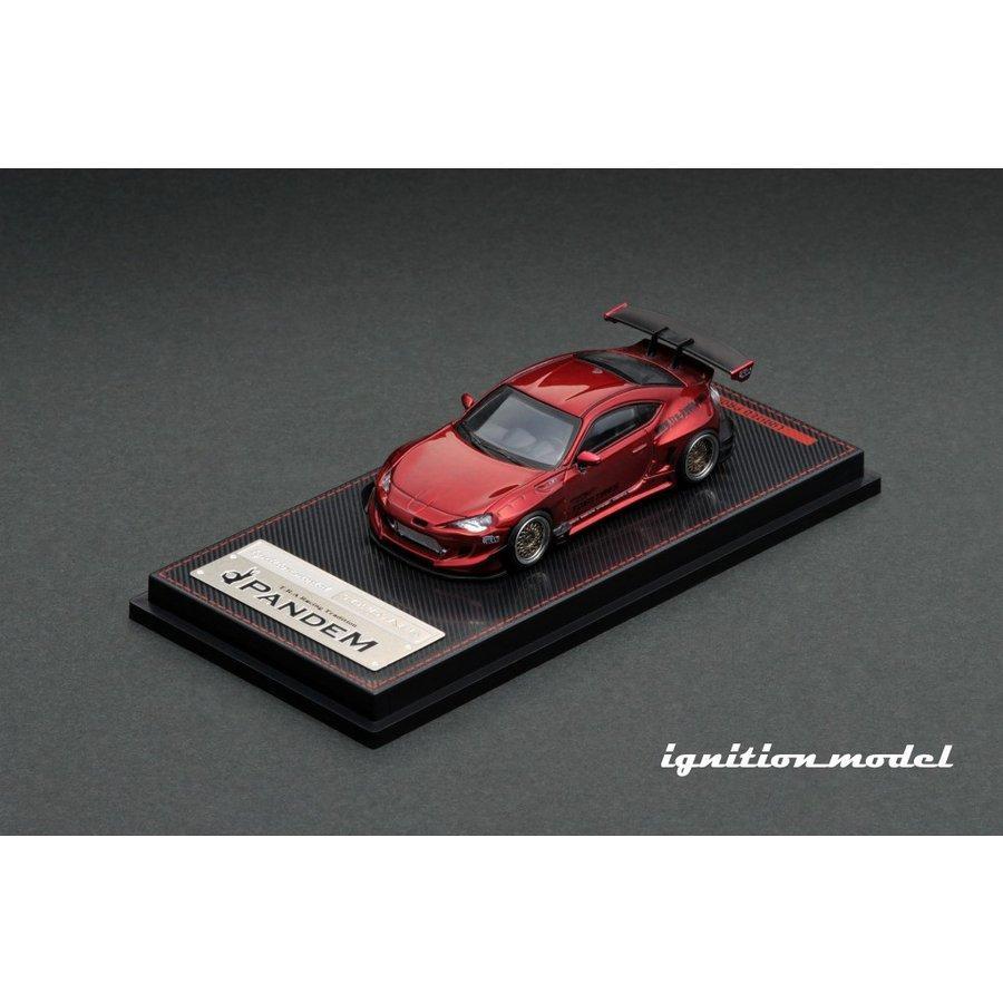 イグニッションモデル IG1753 1/64 PANDEM TOYOTA 86 V3 Red Metallic|omochaya-tencho