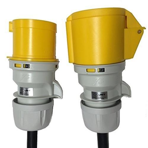 オーディオブレインズ 音響設備用電源ケーブル 32A CEE Form 延長ケーブル 10m CF-CM10Y