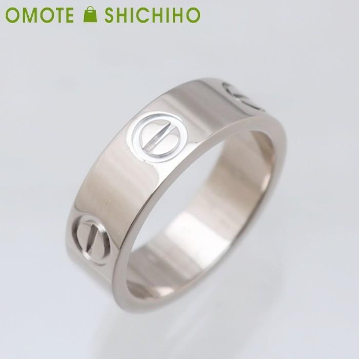 買得 【005】Cartier カルティエ 指輪 LOVEリング カルティエ #49 WG ホワイトゴールド レディース LOVEリング メンズ 指輪 仕上済◆A+ランク, あこがれゆめ:e4b39de2 --- airmodconsu.dominiotemporario.com