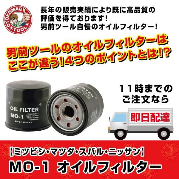 オイルフィルター MO-1 JAPAN MAX ミツビシ・マツダ・スバル・ニッサン オイルエレメント オイル濾過 omt-store