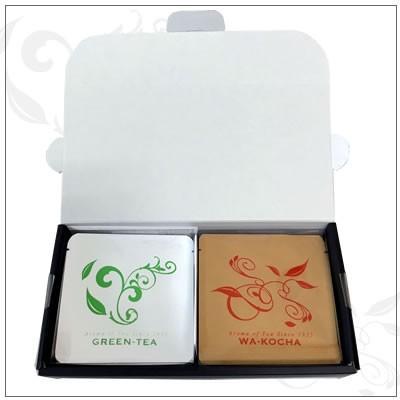 【ティーパックギフトセット】Aroma of Teaシリーズ 深蒸し茶5袋ケース入り・和紅茶5袋ケース入り 贈答箱入1,500円|omuraen|10