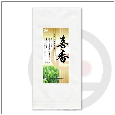 【緑茶ギフトセット】喜香100g 茶袋2本セット 箱入り 3,676円|omuraen|02
