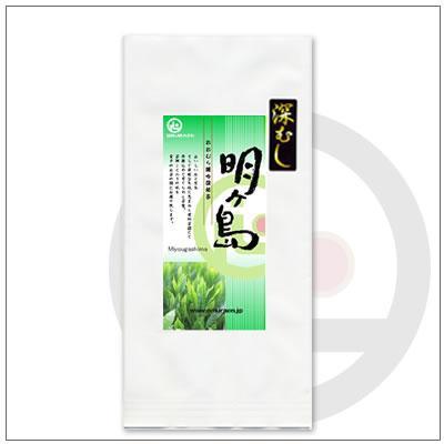 【緑茶ギフトセット】深むし明ヶ島100g 茶袋2本セット 箱入り 2,380円|omuraen|02