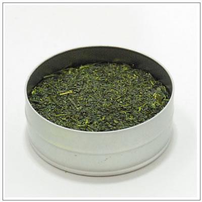 【緑茶ギフトセット】深むし明ヶ島100g 茶袋2本セット 箱入り 2,380円|omuraen|03