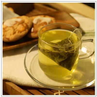 【ハーブブレンド国産フレーバーティ】レモングラス&煎茶 ティーパック8包入 700円 omuraen 08