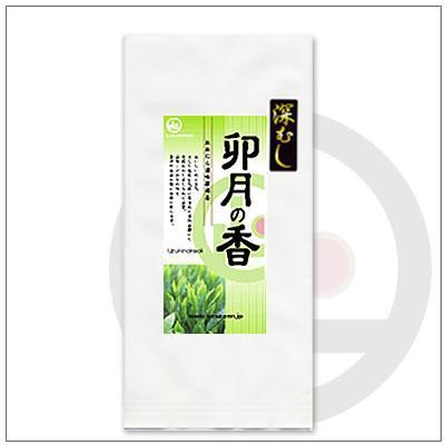 【緑茶〜深蒸し茶】掛川からお届け。 深むし卯月の香100g 2,592円 omuraen