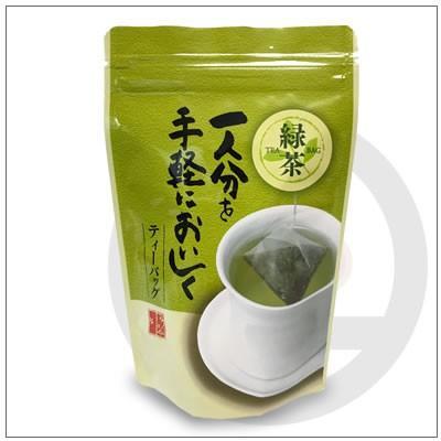 【水出し緑茶】一人分を手軽においしくティーバック 3g×20個入り 864円|omuraen