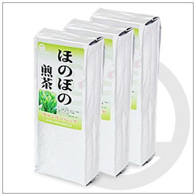 【お得なご家庭用緑茶】ほのぼの煎茶 200g×3パック 2,916円|omuraen