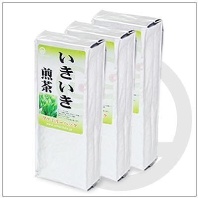 【お得なご家庭用緑茶】いきいき煎茶 200g×3パック 2,592円 omuraen