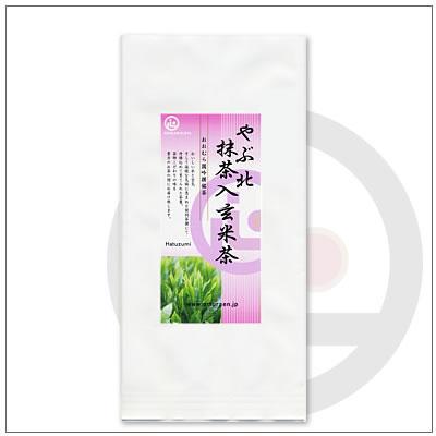 【玄米茶】やぶ北抹茶入玄米茶100g 432円|omuraen