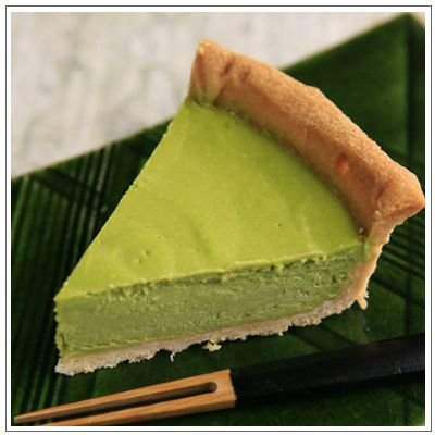 【チーズケーキ】抹茶のベイクドチーズケーキ 2,400円|omuraen|02