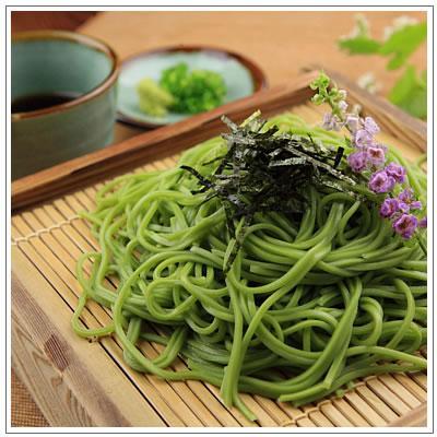 【食品】そねの生茶そば つゆ付き4食分 1,600円  omuraen