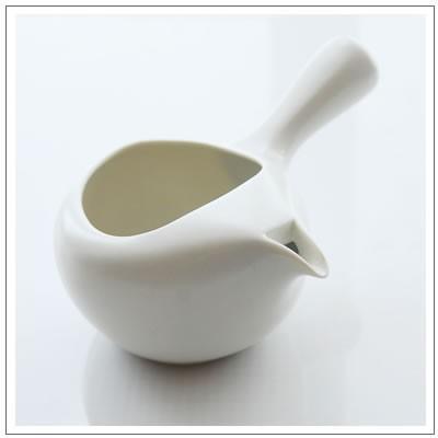 【茶道具】蓋なし急須 ちゃーみる 白 2,530円!|omuraen|03