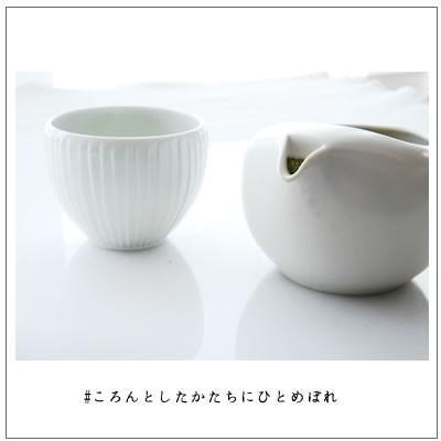 【茶道具】蓋なし急須 ちゃーみる 白 2,530円!|omuraen|08
