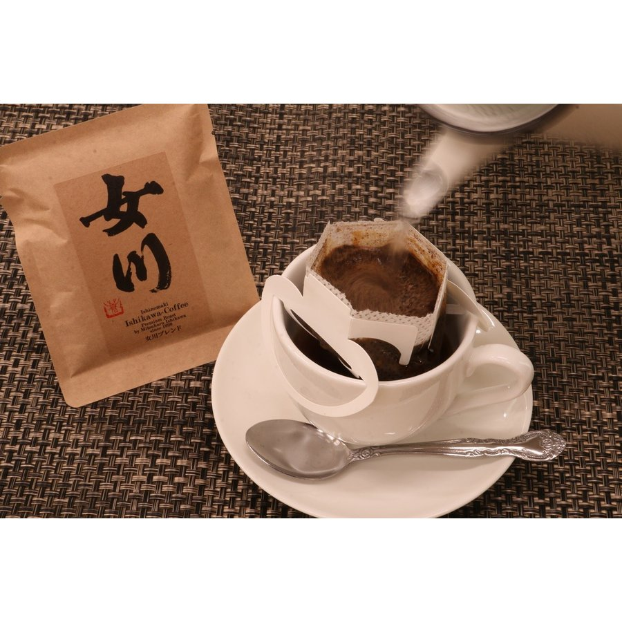珈琲工房いしかわ 女川コーヒー18個セット(ワンドリップコーヒー)|onagawa-again|06