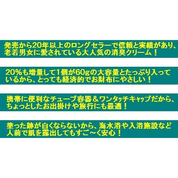 わき 足臭い 消臭クリーム スメルスウィートクリーム 大容量60g 約2ヶ月分 制汗剤 デオドラント 55万個突破 無香料無着色 日本製 onayami-cosme 07
