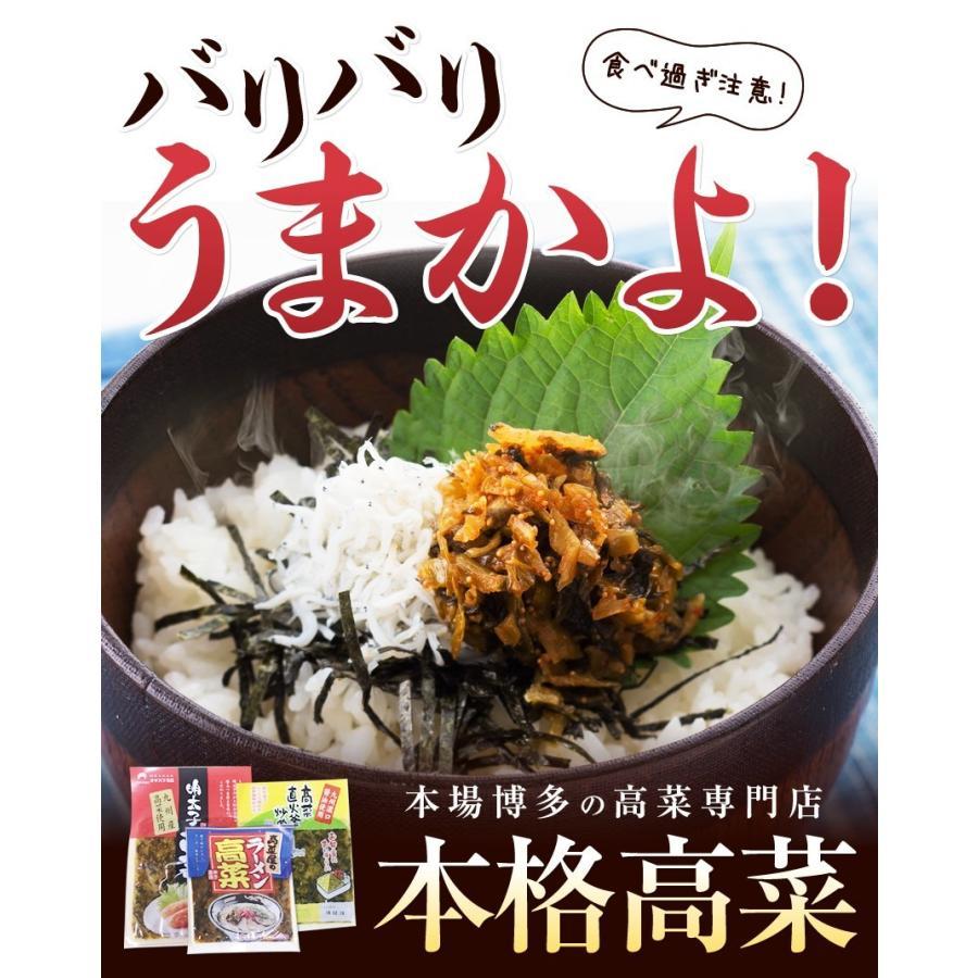 ポイント消化 国産 博多高菜漬け2種類  業務用|once-in|02